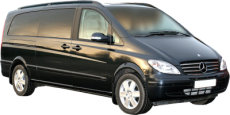 Tours of Guildford and the UK. Chauffeur driven, top of the Range Mercedes Viano people carrier (MPV)