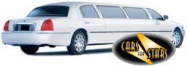 Limo Hire Baxley - Cars for Stars (Guildford) offering white, silver, black and vanilla white limos for hire