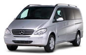Chauffeur driven Mercedes Viano people carrier - Up to 7 passengers in comfort, from Cars for Stars (Guildford) - Airport Transfer Services